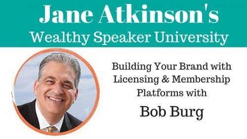 Bob Burg Building Your Brand