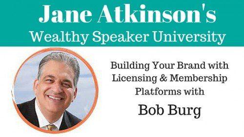 Bob Burg Building Your Brand