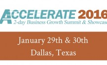Accelerate 2016 Business Growth Summit & Showcase