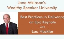 [Podcast] Best Practices in Delivering an Epic Keynote with Lou Heckler