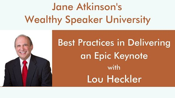 Epic Keynote Podcast Lou Heckler