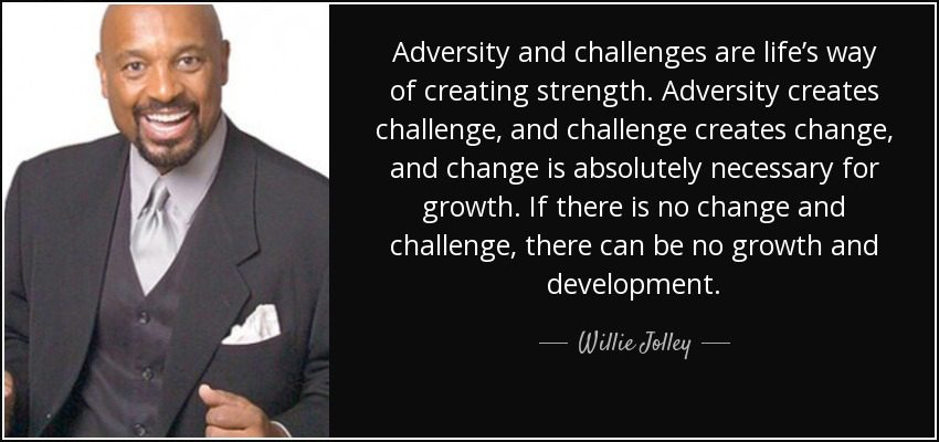 willie jolley on overcoming adversity
