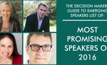 Most Promising Speakers of 2016
