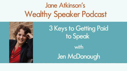 3 Keys to Getting Paid to Speak