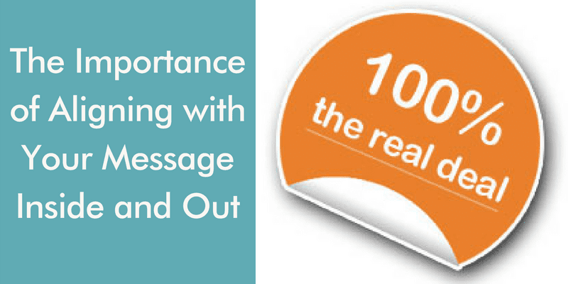 aligning with your message