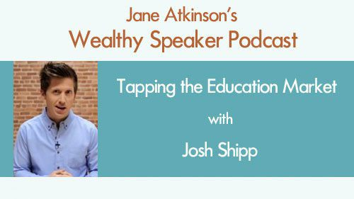Tapping the Education Market with Josh Shipp