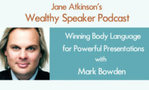 [Podcast] Winning Body Language for Powerful Presentations with Mark Bowden