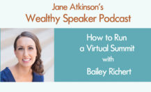 [Podcast] How to Run a Virtual Summit with Bailey Richert