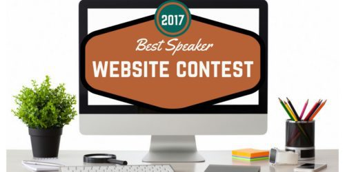 2017 best speaker website contest