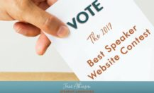 The 2017 Best Speaker Website Contest Finalists Are Announced and It Is Time To Vote!