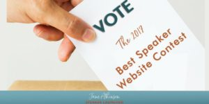 2017 best speaker website contest