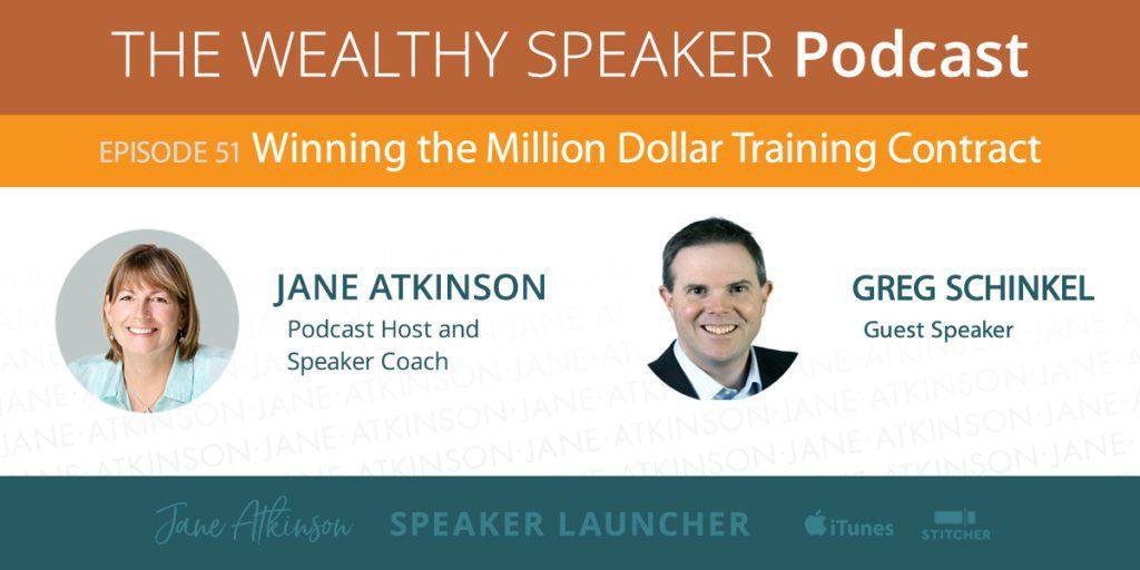 million dollar training contract