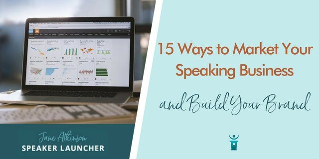 market your speaking business