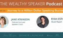 [Podcast] The Journey to A Million Dollar Speaking Business with Ryan Estis (Part 1)