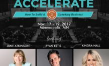 Wealthy Speaker Presents Accelerate LIVE 2017: How to Build a Million Dollar Speaking Business