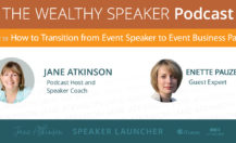 [Podcast] How to Transition from Event Speaker to Event Business Partner with Enette Pauze