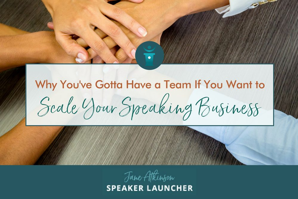 scale your speaking business