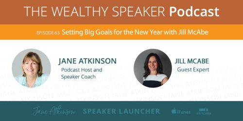 setting big goals for the new year with jill mcabe