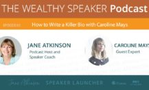 Podcast: How to Write a Killer Bio with Caroline Mays