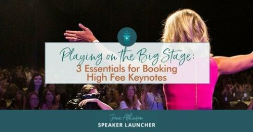 booking high fee keynotes