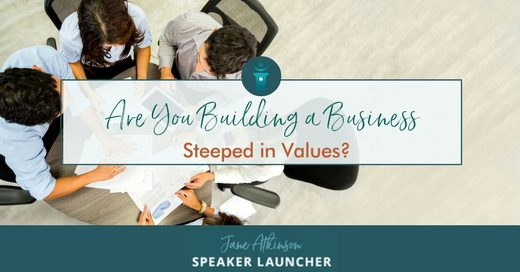 Business steeped in values