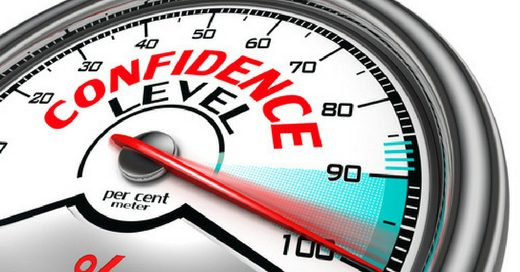 sales posture - confidence builder