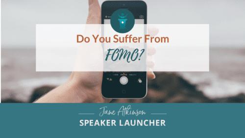 Speaker FOMO