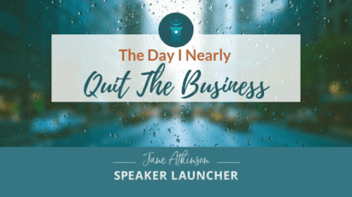 Why I almost Quit the Business