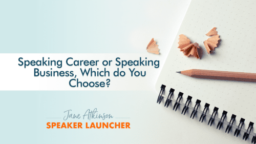Speaking business