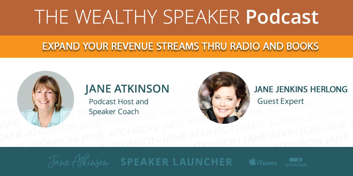 Expand your Revenue Streams thru Radio and Books with Jane