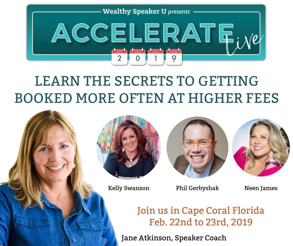 focused hustle - accelerate live 2019