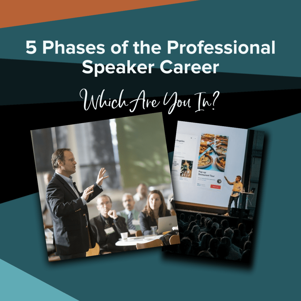 5 phases of a professional speaker career