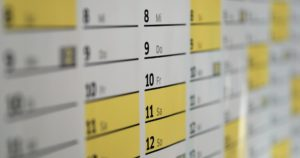 speaking business success strategies - calendar management