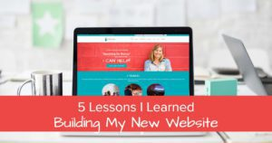 5 lessons i learned building my new website