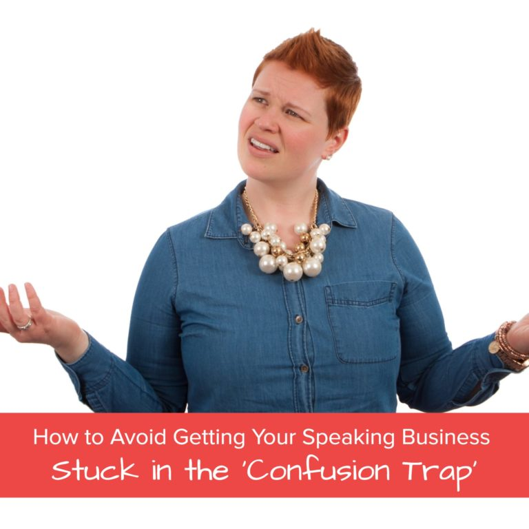 avoid the confusion trap - jane atkinson speaker launcher