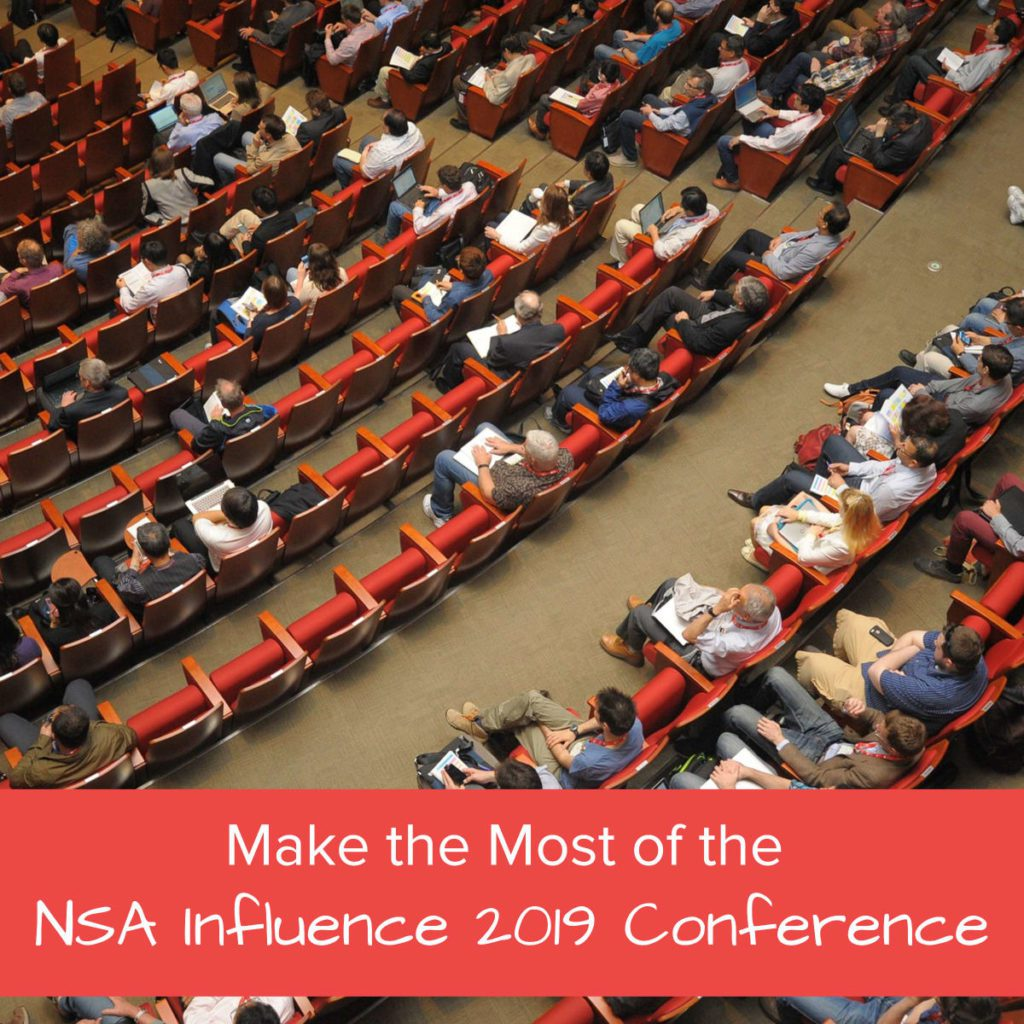 Make the Most of the NSA Influence 2019 Conference - Featured Image
