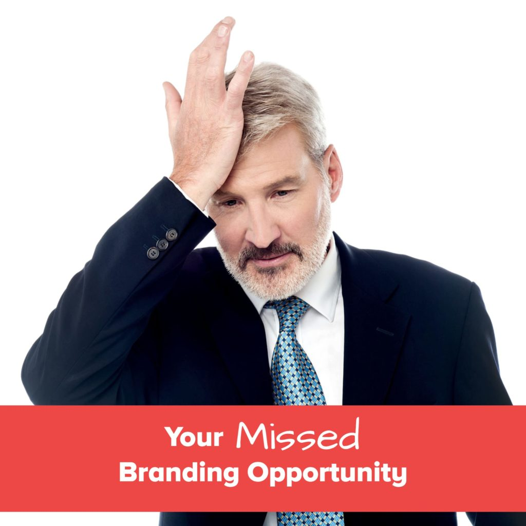 missed branding opportunity - jane atkinson