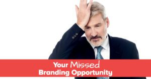 your missed branding opportunity in your speaking business