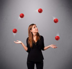 Finding Direction in Your Speaking Career - juggling balls