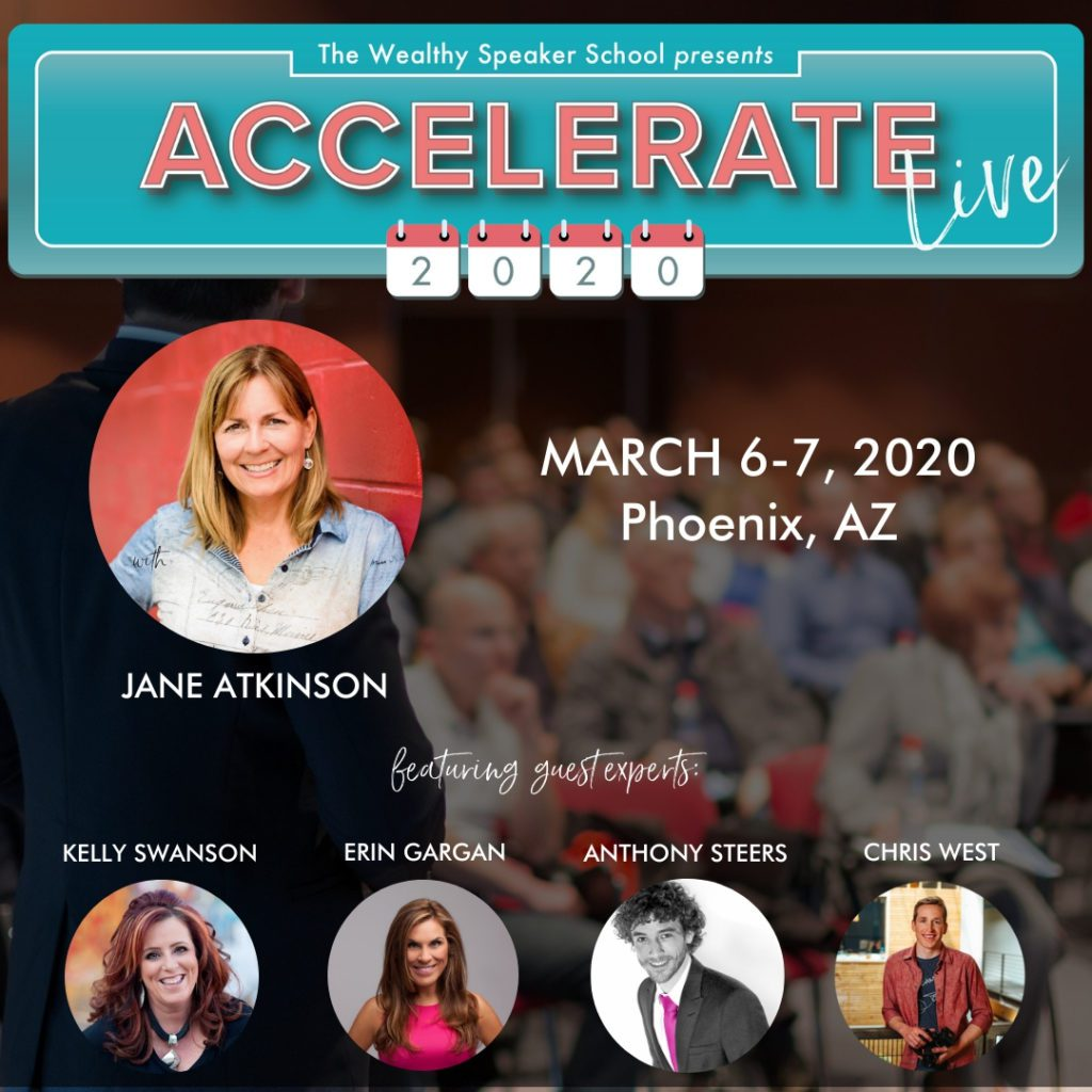 ACCELERATE 2020 - LIVE SPEAKER CONFERENCE