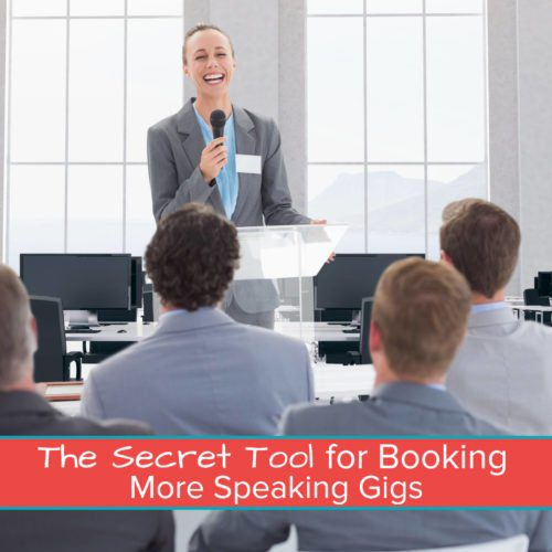 The Secret Tool for Booking More Speaking Gigs Featured Image