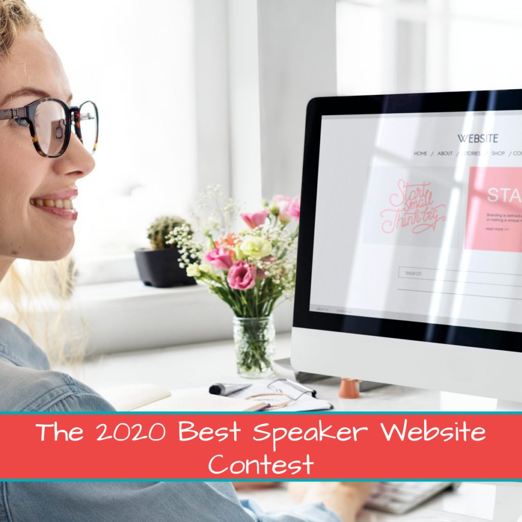 The 2020 Best Speaker Website Contest