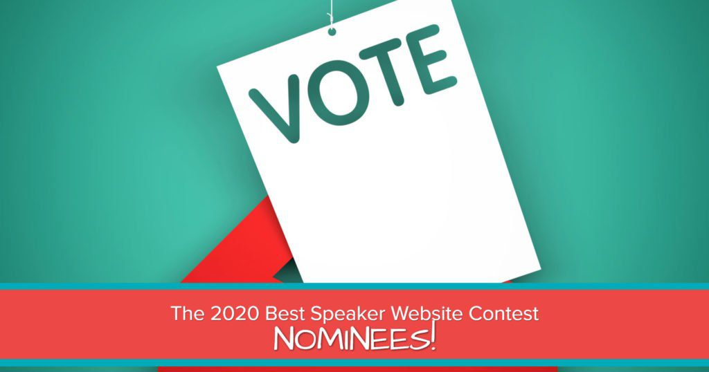 2020 BEST SPEAKER WEBSITE CONTEST NOMINEES