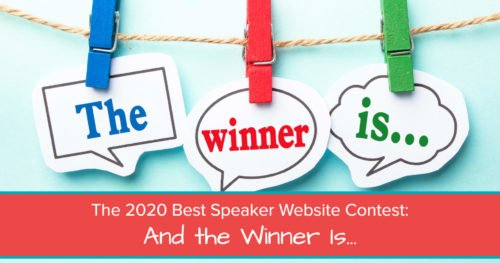 2020 best speaker website contest - Jane Atkinson