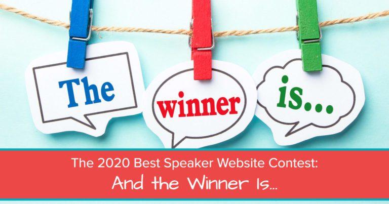 2020 best speaker website contest - Jane Atkinson