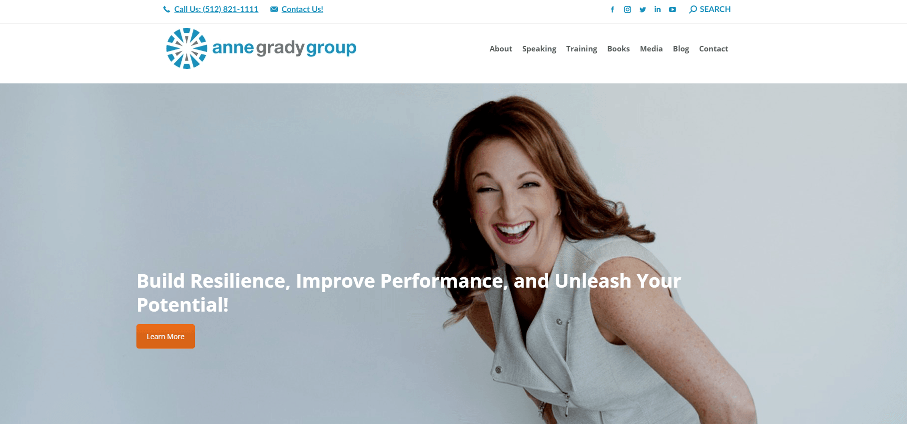 anne grady group - best website contest nominee