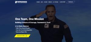 Wingman - Best Speaker Website Nominee