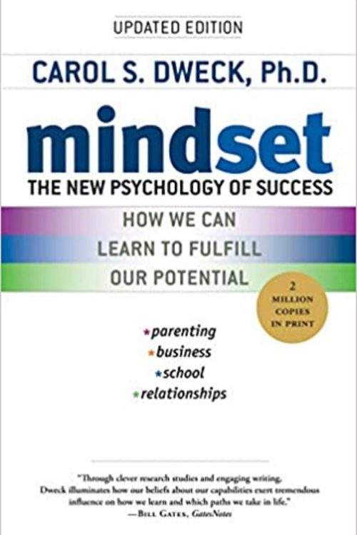 Mindset_ The New Psychology of Success Book Image