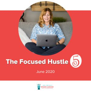 The focused hustle June 2020 1200 x 1200