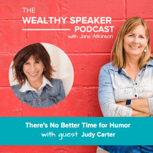 Adding Comedy to Live and Virtual with Judy Carter